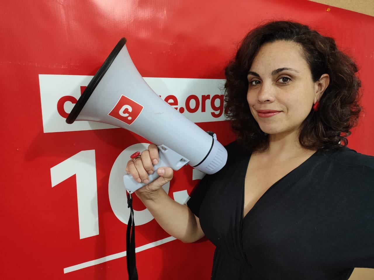Monica Souza, diretora-executiva da Change.org Brasil (Foto: Anne Galvão/Change.org)