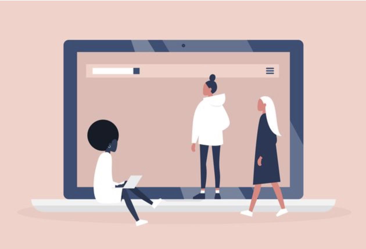 """A ONG afirma que a iniciativa tem a intenção de """"fomentar a voz de jovens mulheres, treiná-las para o uso de ferramentas tecnológicas. (Imagem: NADIA_BORMOTOVA VIA GETTY IMAGES)"""